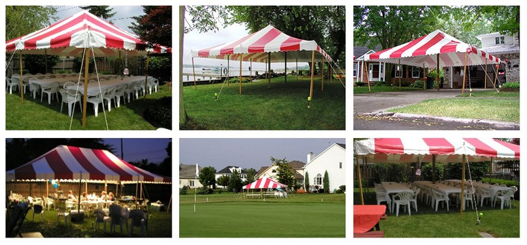 The Traditional Party Tent